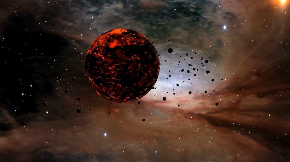 baby exoplanet
