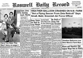 Roswell Weather Balloon