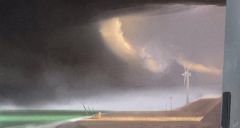 Florian Aupetit Thrilling Illustrations