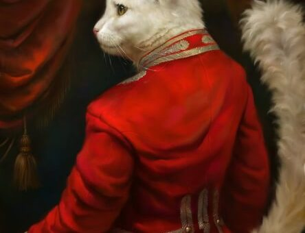 The formal cat fantasy portraiture of Eldar Zakirov