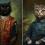 The formal cat fantasy portraiture of Eldar Zakirov