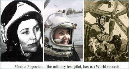 Cosmonaut Marina Popovich Discloses UFOs