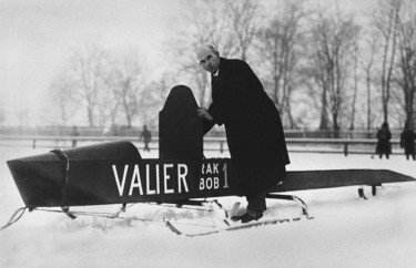 Max Valier was an Austrian rocket scientist who invented solid and liquid fueled missiles.