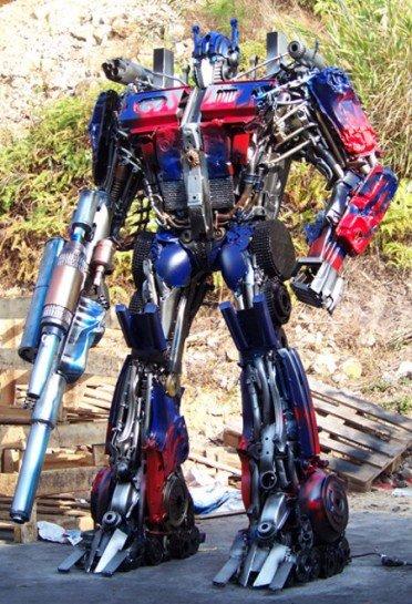 Transformer Sculptures