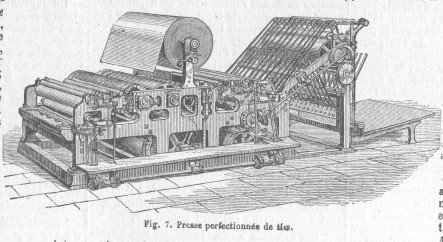 William Bullock invented the first modern printing press.