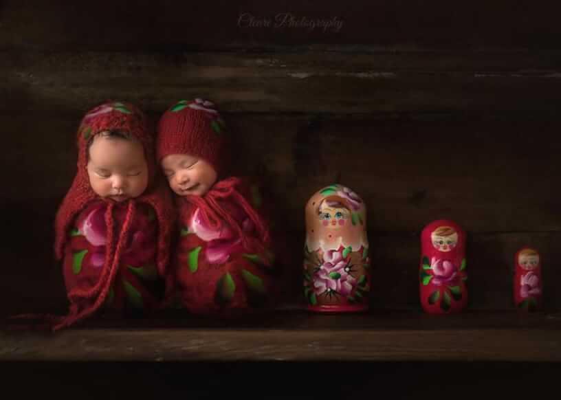 pretty baby nesting dolls