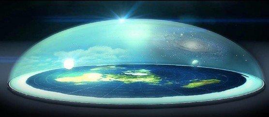 fake moon flat earth