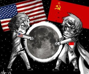 fake moon landing space race