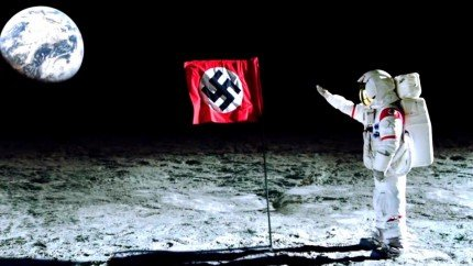 fake moon nazis on the moon