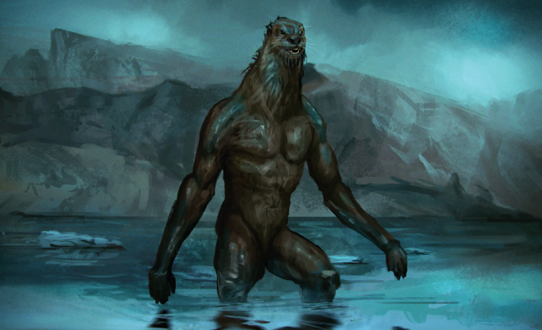 The Land-Otter Man