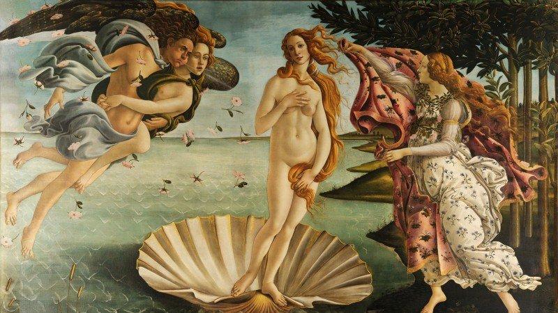 Botticelli's Masterpiece Of 'The Birth of Venus'