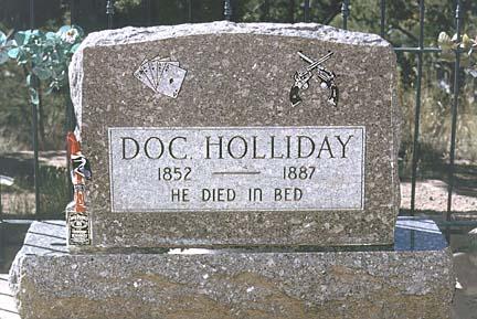 Did Colorado Kill Doc Holliday?