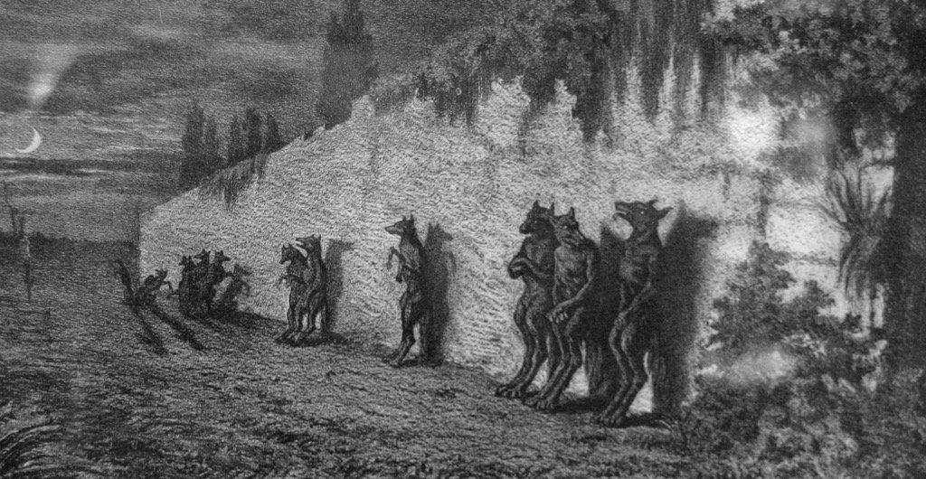 Telepathic Dogmen (Werewolves) Stalk Man In Pennsylvania