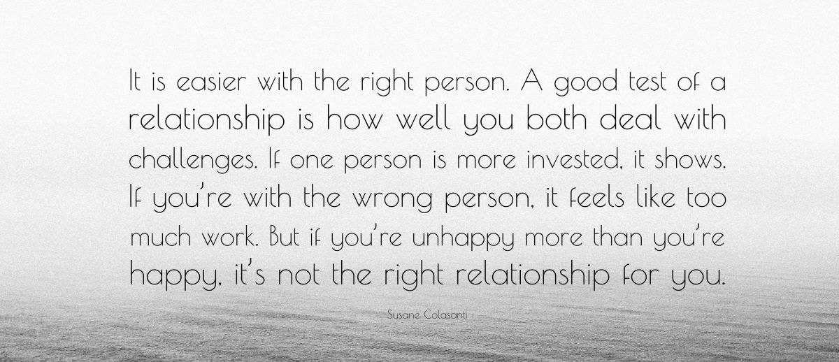 How Can You Tell When You Have Found The Right Person?