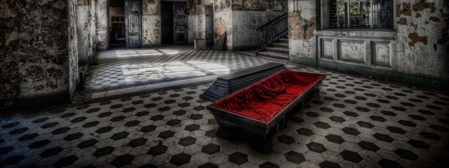 vampire curse coffin