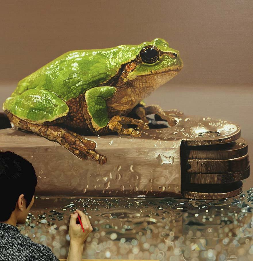Korean Artist Creates Incredibly Realistic Paintings 6