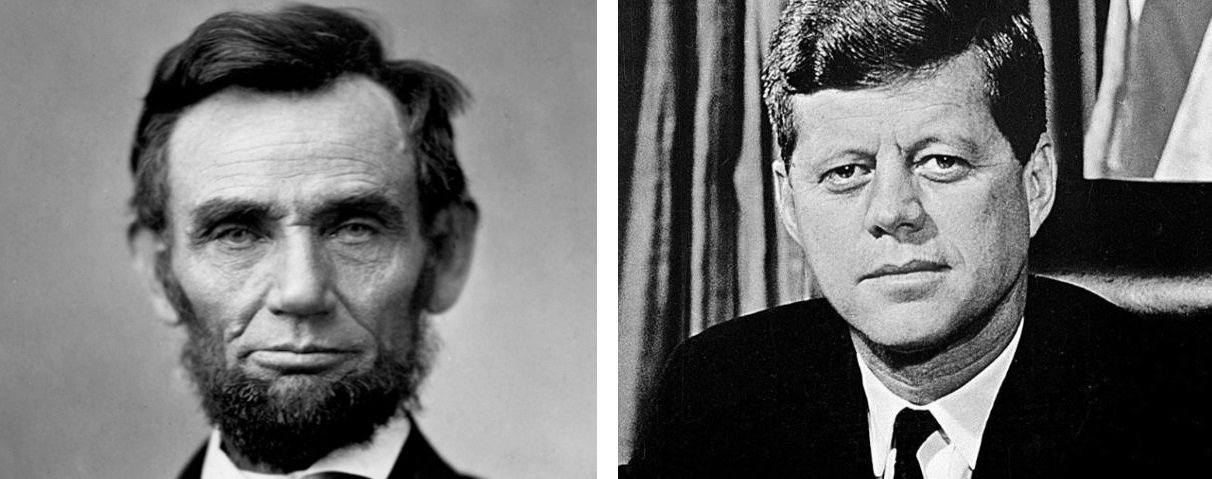 Abraham Lincoln and John F Kennedy timeline