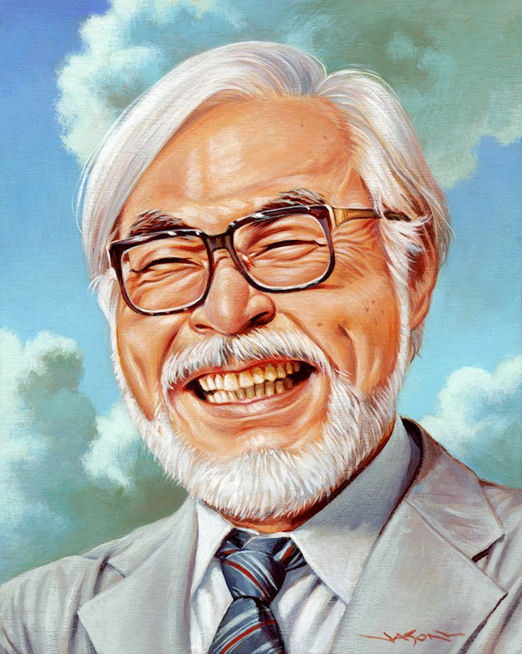 100+ Artists Pay Tribute to Creative Genius Hayao Miyazaki