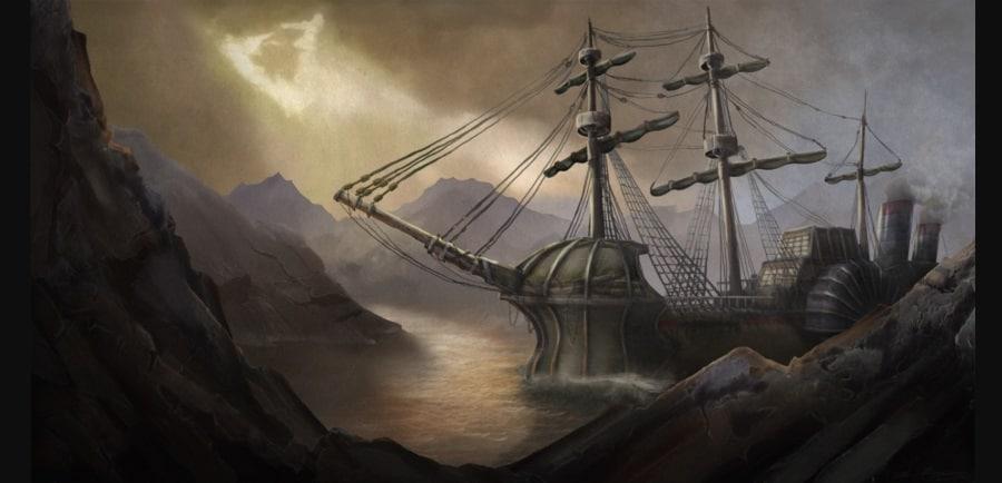 HMS Terror ship