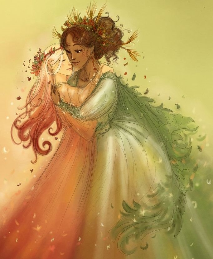 persephone and demeter