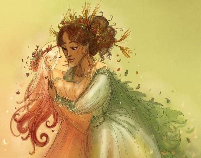Greek Mythology : Persephone