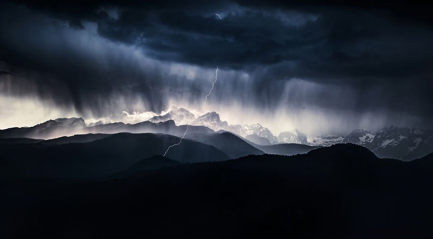 Category Landscape Winner 'A Stormy Day' By Ales Krivec (Si)