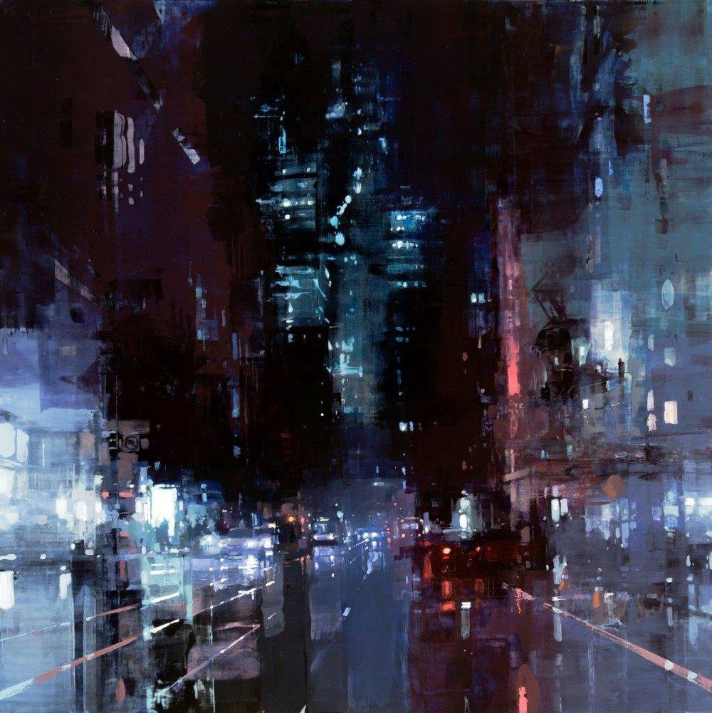 Market street midnight
