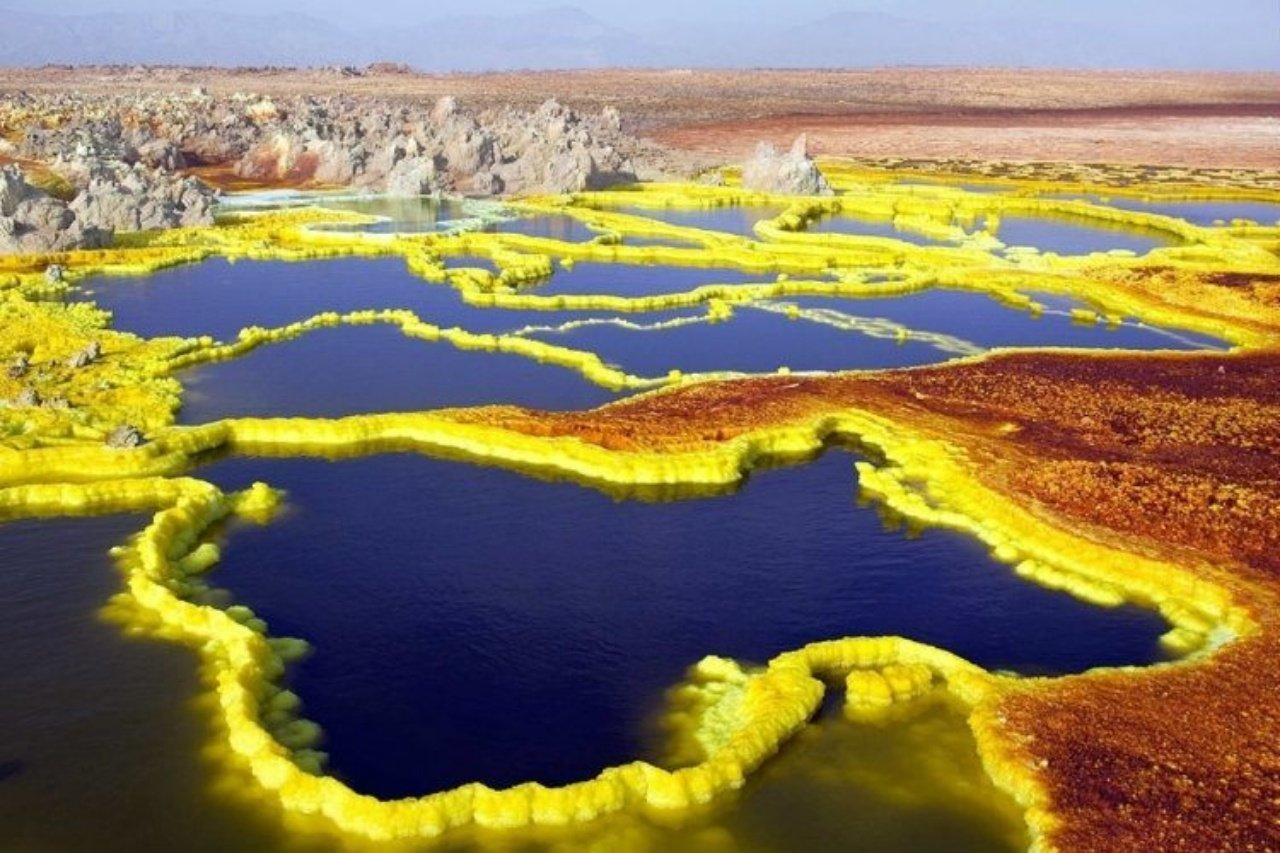 HOTTEST PLACE dallol