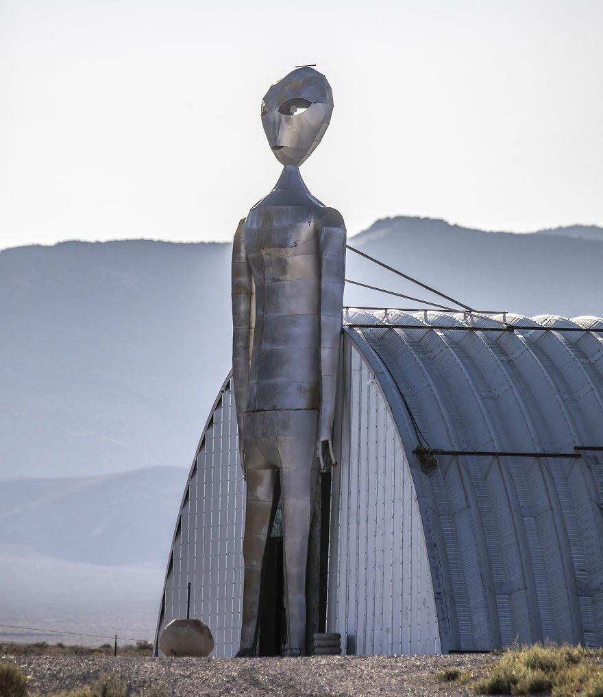 The Hangar For Aliens