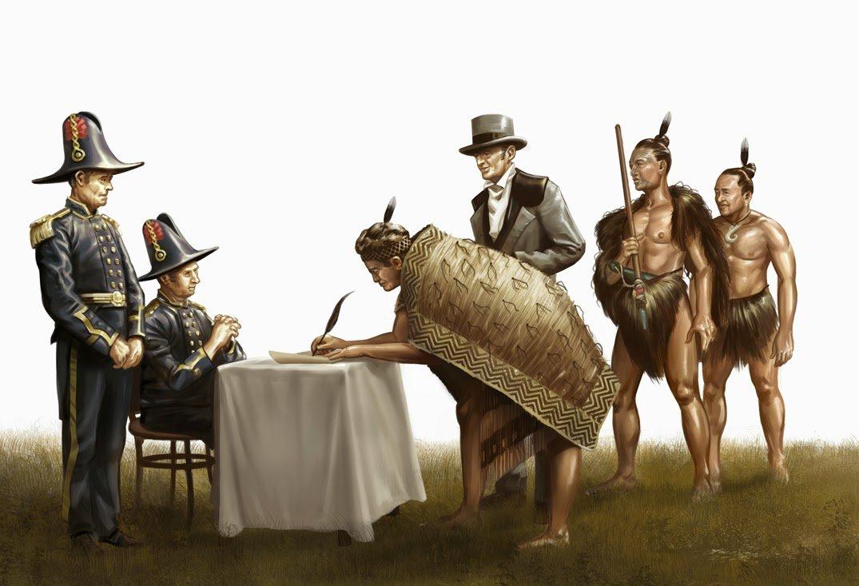 changed history Treaty of Waitangi