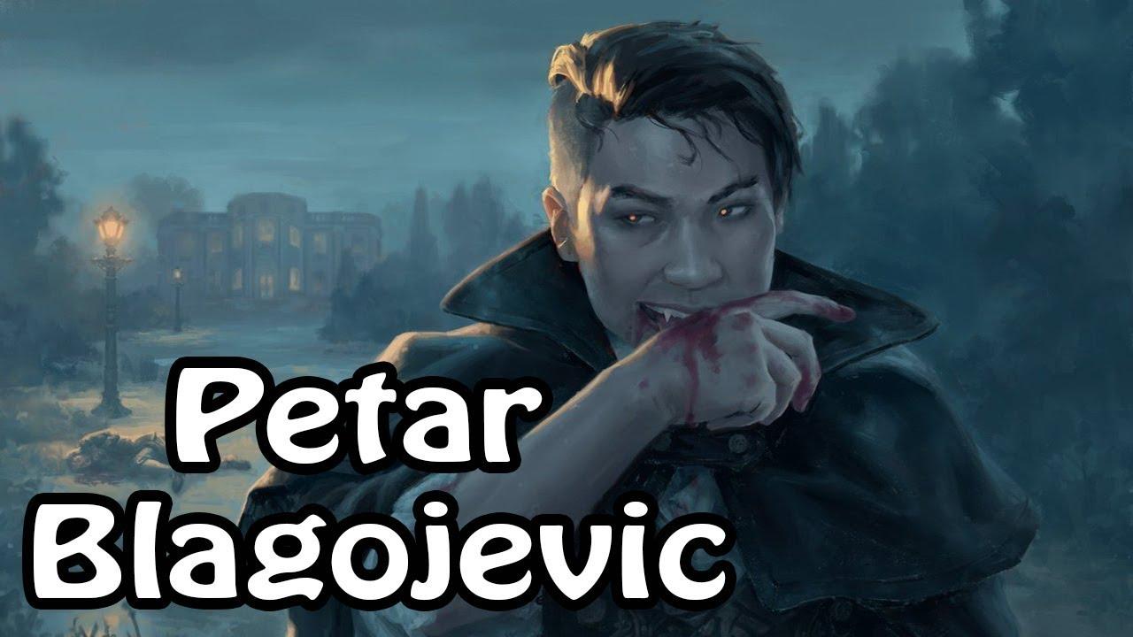 peter blagojevic vampires