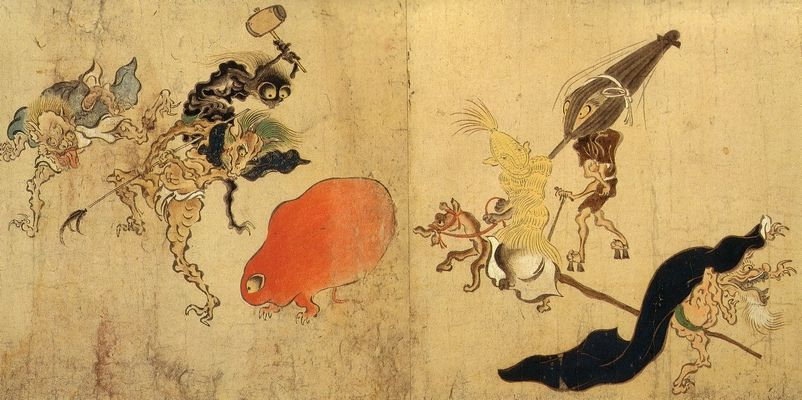terrifying japanese ghosts Tsukumogami