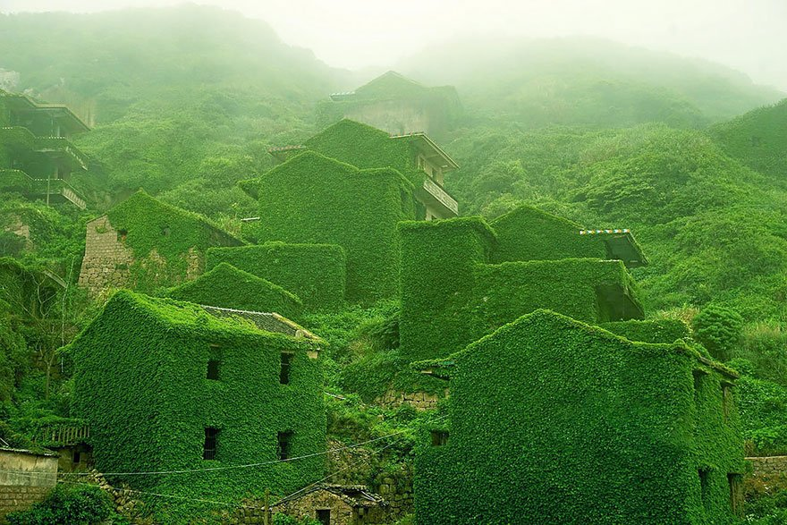 Abandoned Fishing Village In Shengsi China
