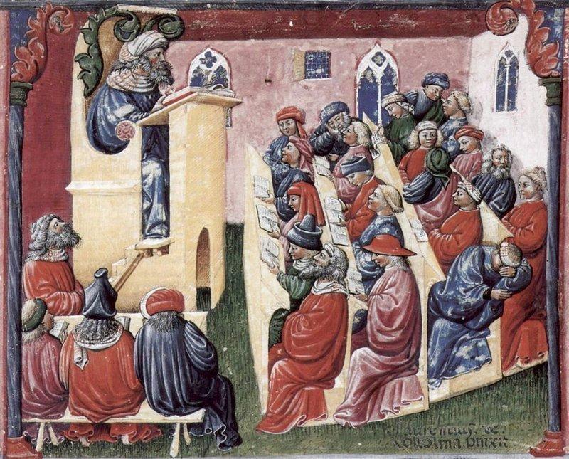 Dark Ages University of Bologna