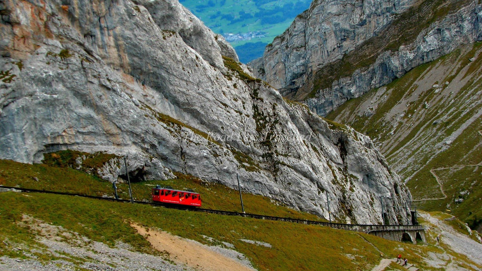dangerous railways The Pilatus Railway