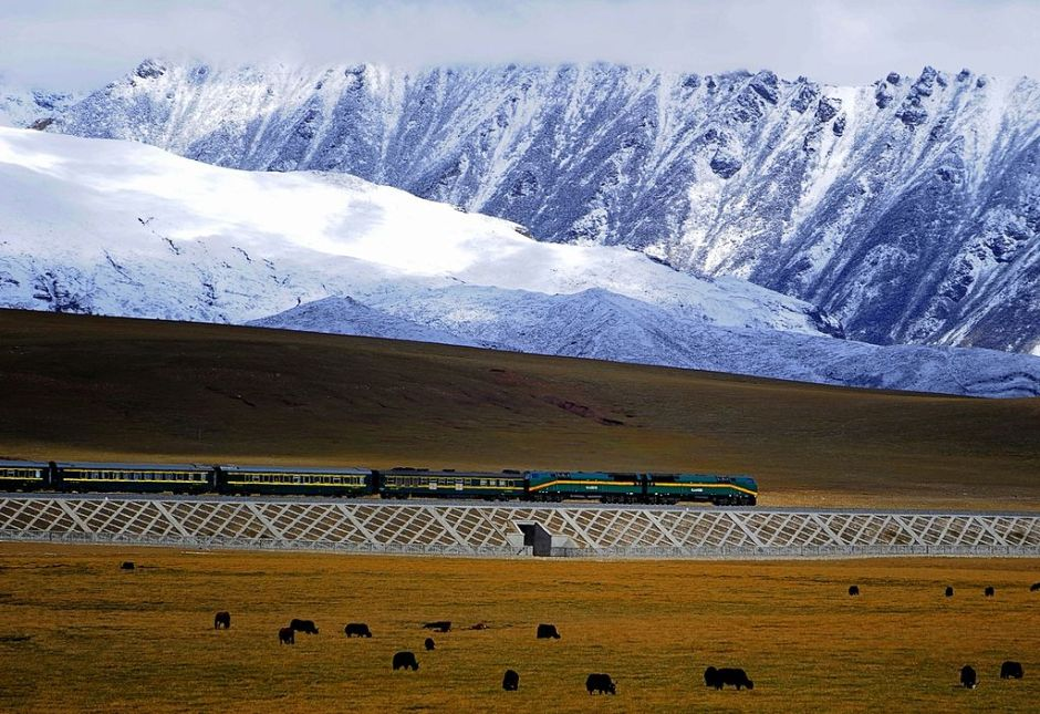 dangerous railways The Qinghai Tibet Railway