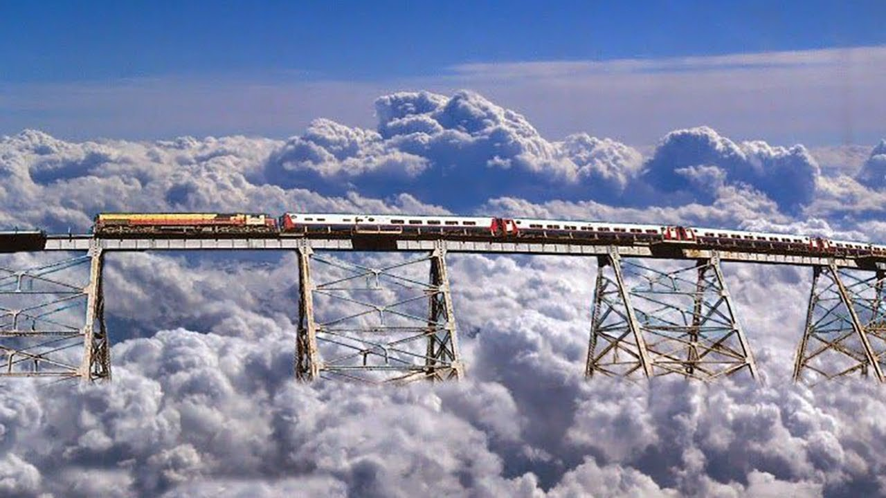 dangerous railways Tren a las Nubes