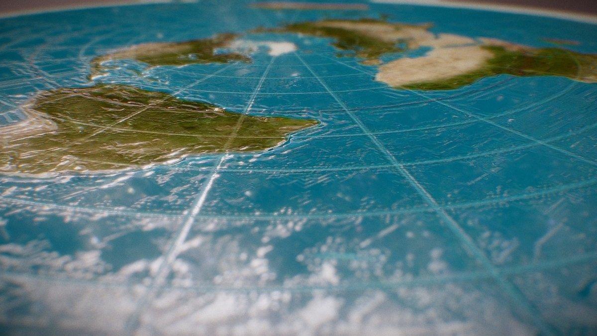 flat earth model
