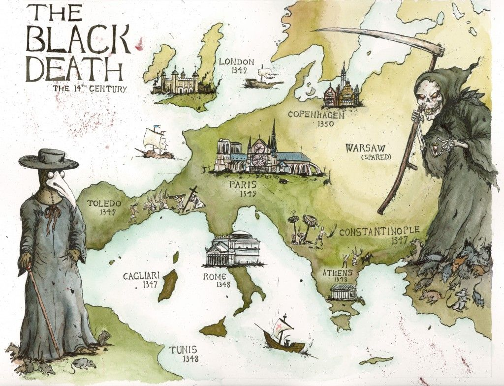 The Black Death Was The Most Devastating Pandemic In History