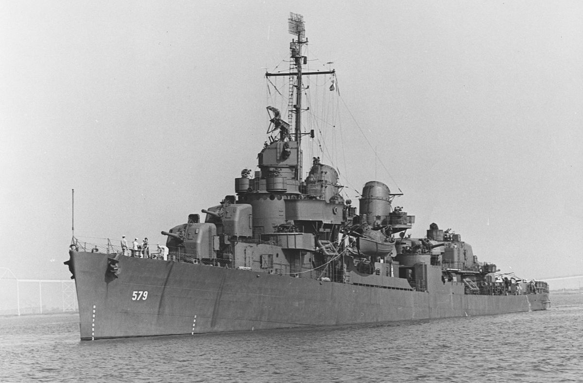USS William D. Porter (DD-579)1