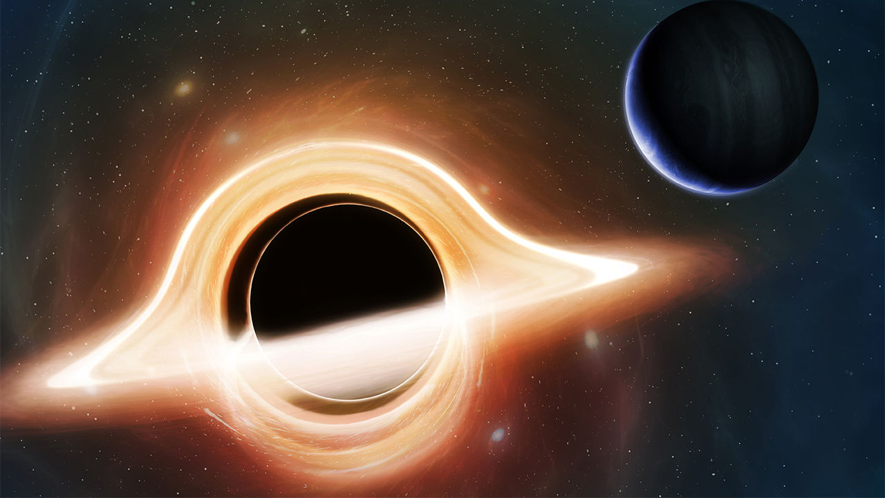 space Travelling Black Hole