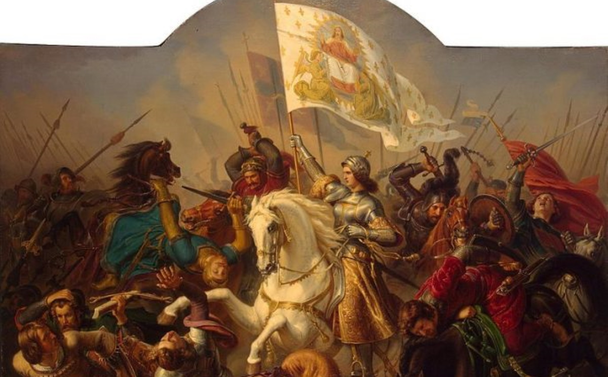 The Maid of Orléans : How Joan of Arc defeated the English